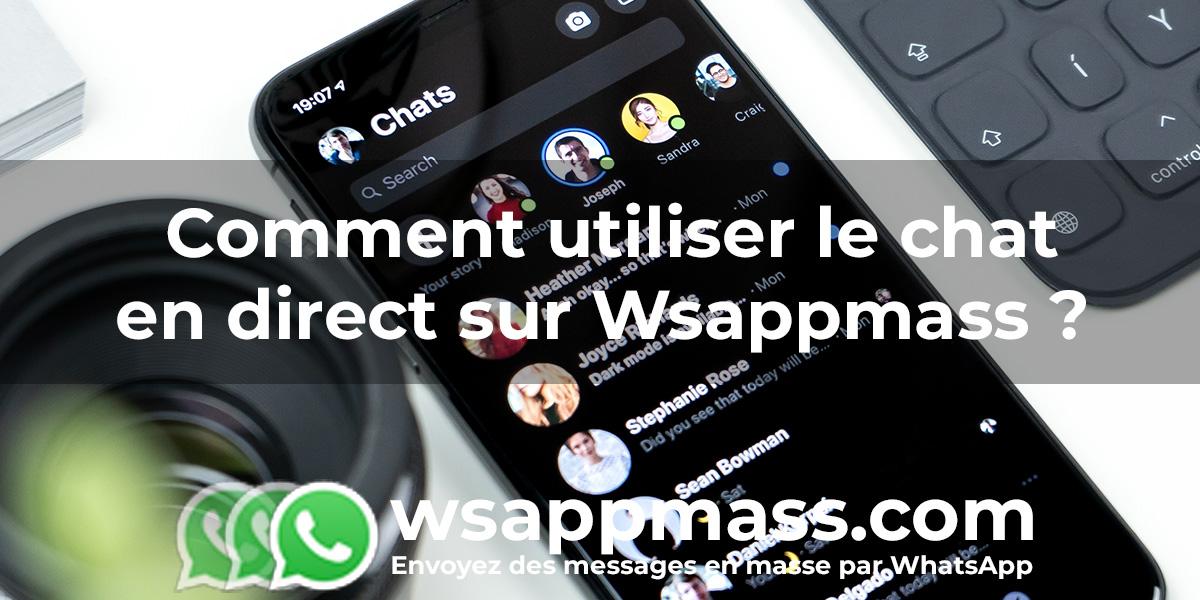 Chat en direct sur Wsappmass