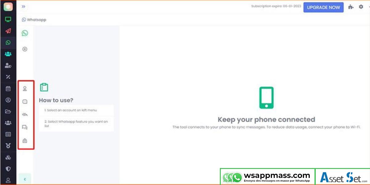 Chat en direct WhatsApp