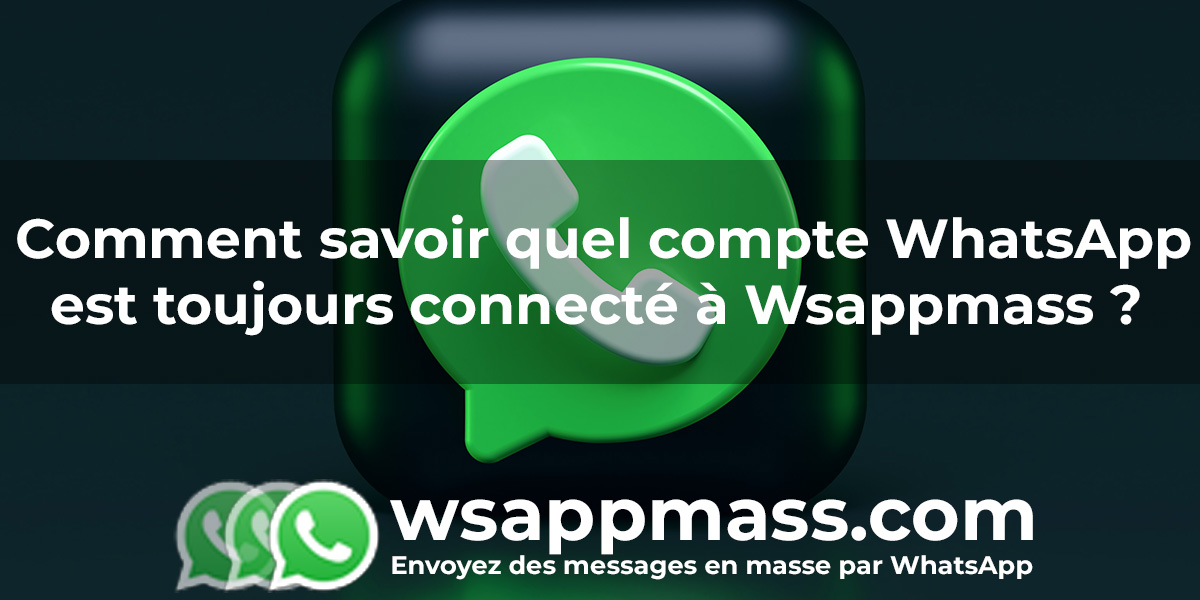 Connexion au compte WhatsApp