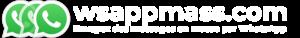 Logo wsappmass blanc